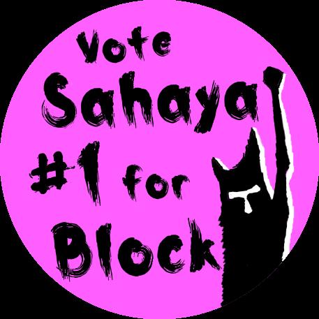 Sahaya James for Block of 15 sticker