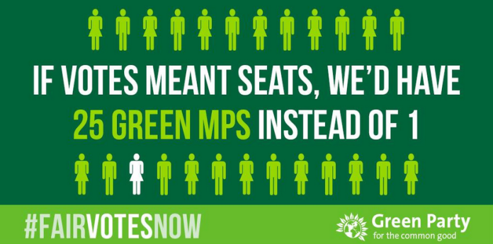 green party fair votes