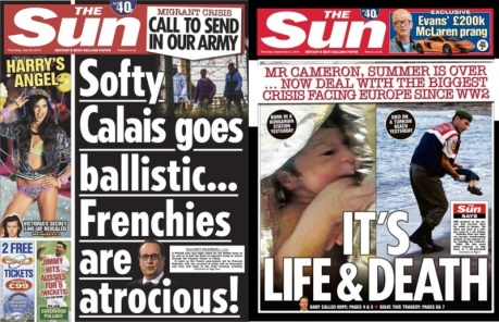 the_sun_frontpages