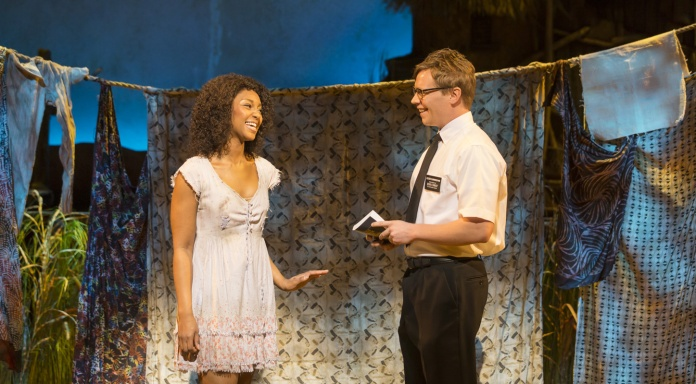 ( Nabulungi and Elder Cunningham © lovetheatre.com )