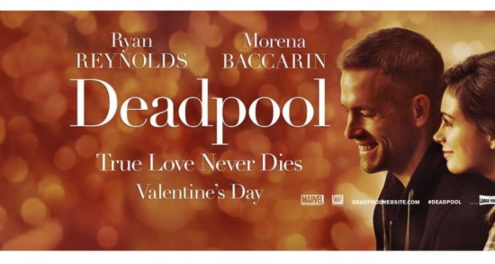 ( 'Romantic' Deadpool poster © Fox Pictures )