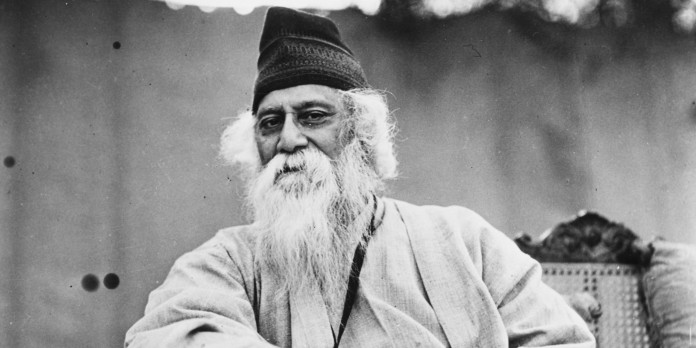( Rabindranath Tagore © Getty Images )
