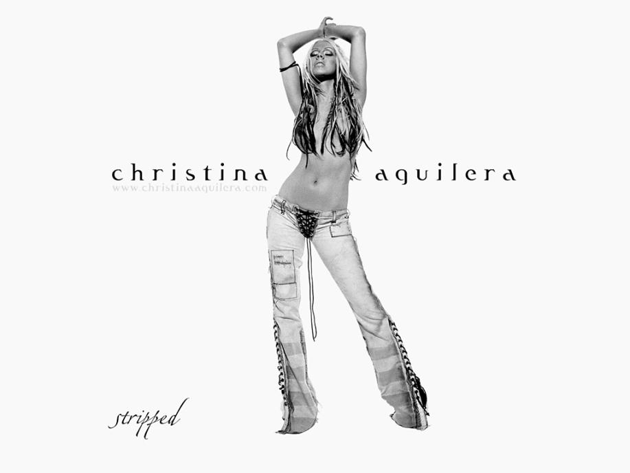 christina-aguilera-stripped-wallpaper-2