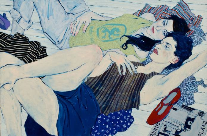 ( Hope Gangloff 'Clothes Swap, Brooklyn' 2008 via nymag, 'I'm Having a Friendship Affair' )