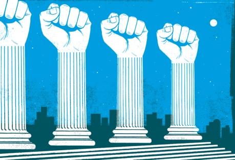 illustration adna fruitos democracy