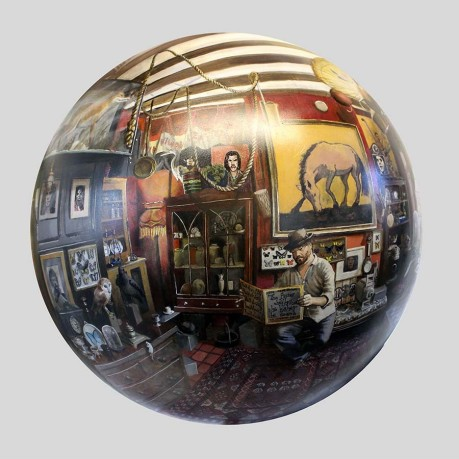 P.Milnes Antiques and Curios by Will Teather - spherical 360 painting(1)