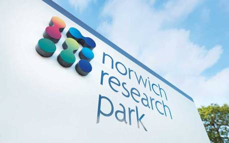 norwich-research-park-nrp-sign-logo