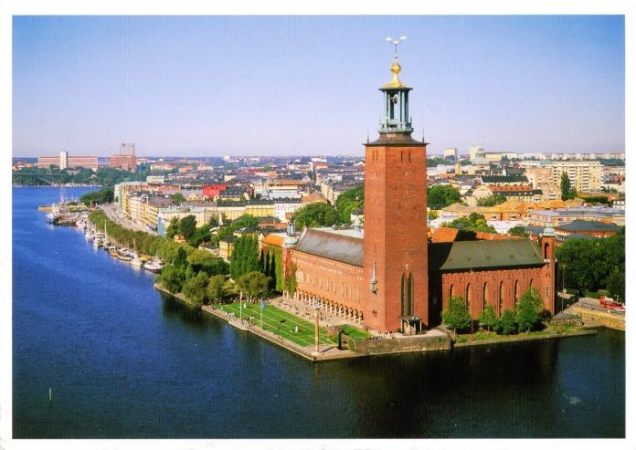 (Stockholm City Hall via welcometomyhome)