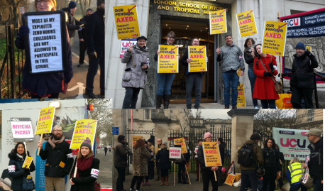 THE UCU STRIKE A GUIDE FOR INTERNATIONAL STUDENTS