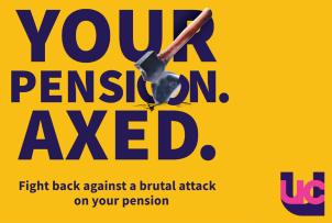 Resultado de imagen de ucu pensions axe