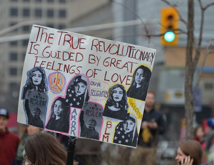 revolutionaryloveplacard