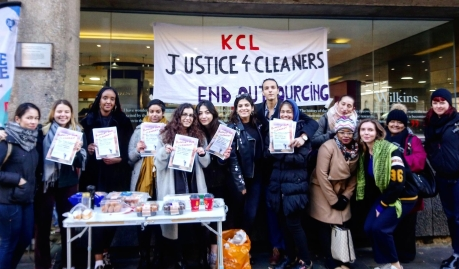 cb33f5cbcea JUSTICE FOR CLEANERS AT KING S COLLEGE LONDON