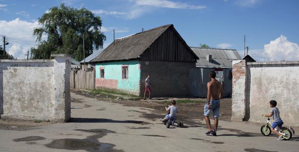 Roma settlement, Beregovo