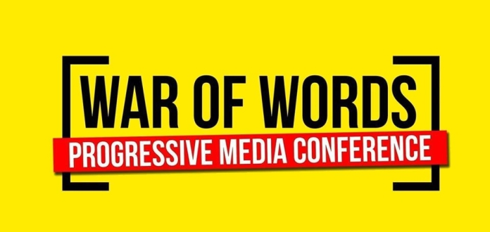 war of words lprogressive media event