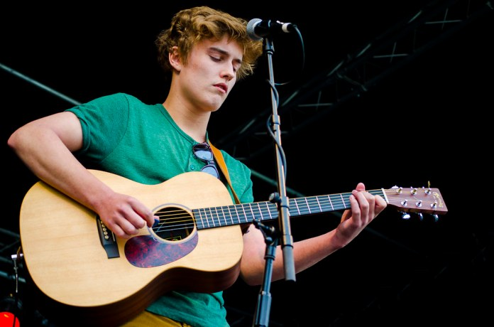 Sam Fender at Chase Park Festival 2013