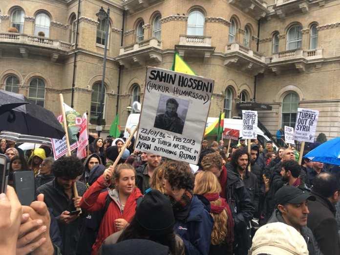 Rojava london