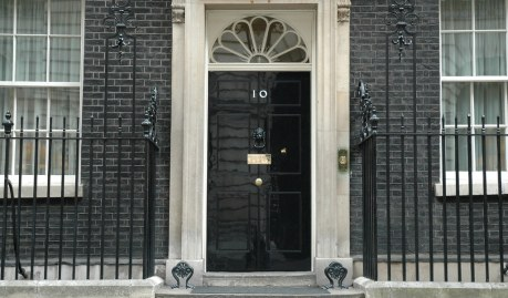 downing street 10 door