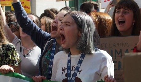 climate strike birmingham 2019