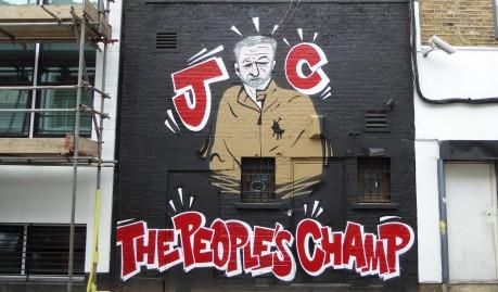 corbyn legacy graffiti